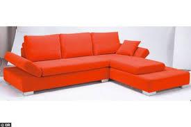 canapé d angle orange canapés d angles plusieurs modèles pour choisir côté maison