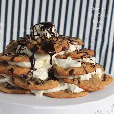chocolate chip cookie icebox cake recipe chip cookies