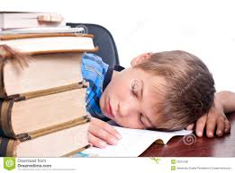 Kid At Desk by Young Boy Sleeping On His Desk Royalty Free Stock Photos Image