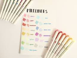 zebra mildliner highlighters study inspiration pinterest