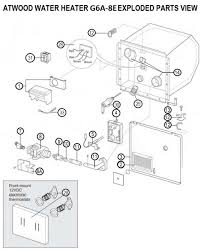 Rv Awning Parts Diagram Atwood Water Heater Model G6a 8e Parts Pdxrvwholesale
