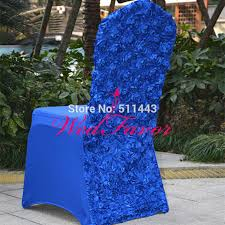 royal blue chair covers online get cheap royal blue satin chair covers aliexpress