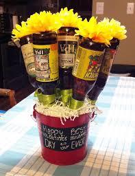 Mens Valentines Gifts Best 25 Beer Bouquet Ideas On Pinterest Man Bouquet Liquor