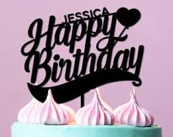 birthday cake toppers personalization lab