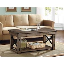 home decorators collection parker 3 ft washed grey coffee table