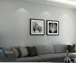 hanmero non woven classic plain stripe modern fashion wallpaper