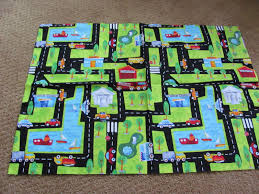 Kids Play Rugs With Roads by Header Carry Along Play Mat