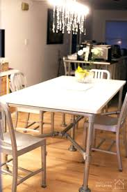 articles with plumbing pipe dining table tag stupendous pipe