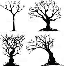 set of halloween tree stock vector art 818335568 istock