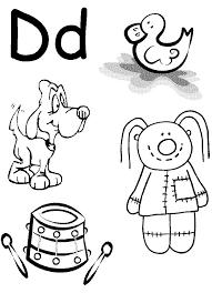 preschool letter d worksheets free worksheets library download