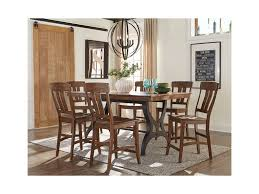 intercon the district gathering height dining table with leaf