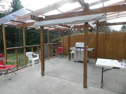 Pergola Plastic Roof by Covering Enclosing A Back Porch The Hull Truth Boating And