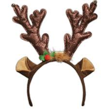reindeer antlers headband light up antler headband led reindeer antlers windy city novelties