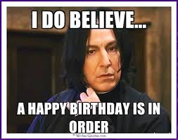 Harry Potter Birthday Meme - birthday memes with famous people and funny messages birthday