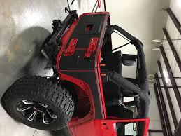 matte grey jeep tron style jeep wrangler wrap wrapfolio
