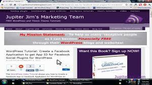 tutorial wordpress blog wordpress tutorial add facebook fan page like box to your