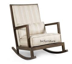Furniture Old Age Varnished Wooden Rocking Armless Chair With - Wooden rocking chair designs