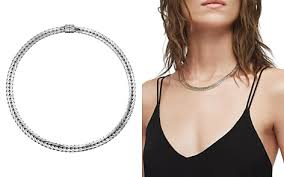 silver choker collar necklace images Women 39 s designer chokers collar necklaces bloomingdale 39 s 5,0&a
