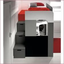 lit superposé avec bureau pas cher abordable lit mezzanine avec bureau pas cher décoration 397499