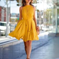 yellow dress lemon vintage yellow dress burlap apparel