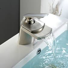 bronze waterfall bathroom faucet bathroom cabinets tesco sink