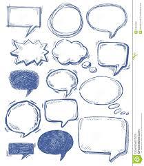 speech bubble hand drawn drawn bubble dialogue bubble pencil and in color drawn bubble