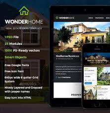 real estate newsletter template u2013 10 psd pdf documents download