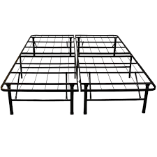hercules full size 14 in h heavy duty metal platform bed frame