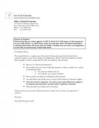 Embassy Letter From Bank Visa Covering Letter Format 21 Sle Cover Letter For Student