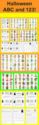 146 best halloween printables worksheets images on pinterest