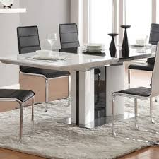 acrylic dining room table modern plastic acrylic dining kitchen tables allmodern