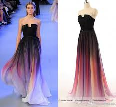 Formal Gowns Elie Saab Prom Dresses Evening Gowns Real Pictures Line Formal
