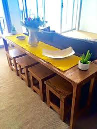 sofa table with stools underneath nice idea sofa table with stools underneath layout design minimalist