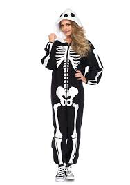 Ladies Skeleton Halloween Costume by Leg Avenue 85608 Skeleton Kigarumi Funsie Costume Women U0027s