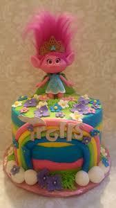 Dragon Ball Z Cake Decorations by Dreamworks Trolls Cake By Cakes By Zoie Cakes By Zoie