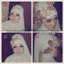 tutorial hijab syar i untuk pengantin cara memakai jilbab pengantin syar i cara memakai jilbab tutorial
