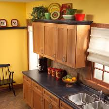 how to paint above kitchen cabinets how to add shelves above kitchen cabinets diy family