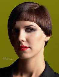 what is a convex hair cut fashionable short hairstyle with convex and concave shapes in one cut