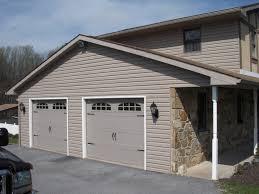 garage door ideas exterior design chic certainteed siding with white garage door