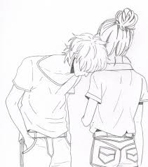 pictures anime s couples skitch drawing drawing art gallery