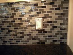 How To Install Kitchen Backsplash Glass Tile Cutting Backsplash Tile Around Outlets