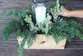 Tin Can Table Decorations Diy Christmas Table Decorations Easy Centerpiece In 10 Minutes