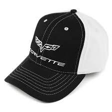 Corvette Flags C6 Flags Hat Black U0026 Ivory