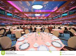 Main Dining Room Cruise Ship Main Dining Room For Over 1 000 Seats Is Awaiting For