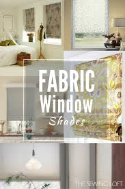 window shades fabric window treatments the sewing loft