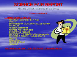cover page of science project mbvm 8th grade science fair 7th grade planning for ppt download