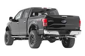 Ford F150 Truck Tires - 6 inch suspension lift kit for 2015 2018 ford f 150 pickup 557 22