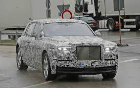 roll royce car 2018 2018 rolls royce phantom prototype partially reveals new