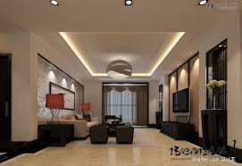 gypsum board ceiling in siting room home combo