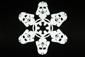 printable snowflake writing paper how to make star wars snowflakes 10 steps with pictures